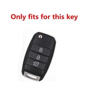 Image 5 - TPU Folding Car Key Cover Protection For KIA Sid Rio Soul Sportage Ceed Sorento CeratoK2 K3 K4 K5 Remote Case Protect Keychain