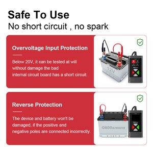 Image 2 - BM560 6V 12V Car Battery Tester Analyzer 100 2000 CCA 2 220AH Cranking/Capacity Test Automotive Charge Check PK KW600 KW650