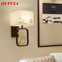 Lámparas de pared modernas luz creativa contemporánea nuevo diseño interior balcón decorativo para sala de estar pasillo cama Hotel|Lámparas LED de pared de interior|Luces e iluminación -