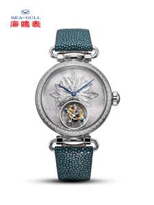 Watch Women Mechanical-Watches Tourbillion-Watch Seagull Sapphire Luxury Brand
