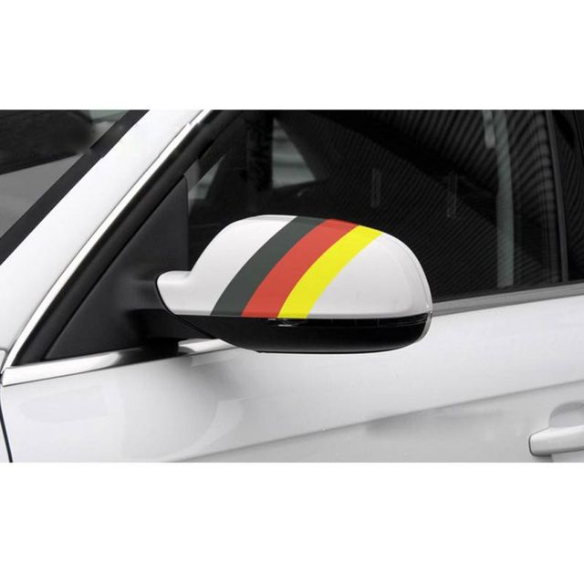 $ 1.95 1M*15CM Three-color Decorative Car Stickers Waterproof Car Body Car Accessories Motorcycle^^