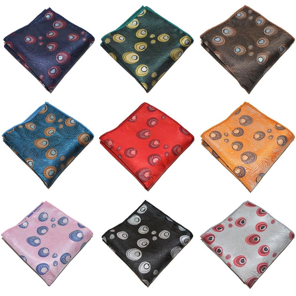 Men's Suit Handkerchief High Grade Formal Pocket Square Hanky Party Wedding BWTYX0306