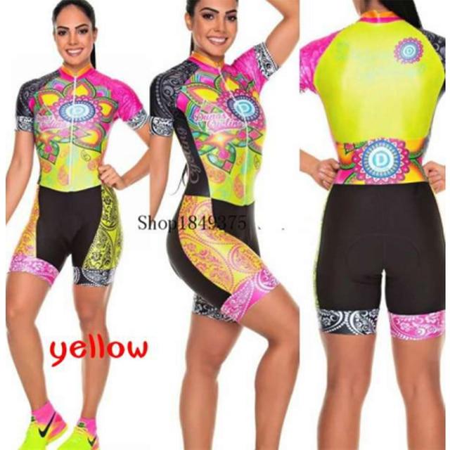 mulheres profissão triathlon terno roupas ciclismo skinsuits corpo maillot ropa ciclismo macacão das mulheres triatlon kits verão macacão ciclismo macaquinho ciclismo  feminino kafitt roupas femininas com frete gratis 2