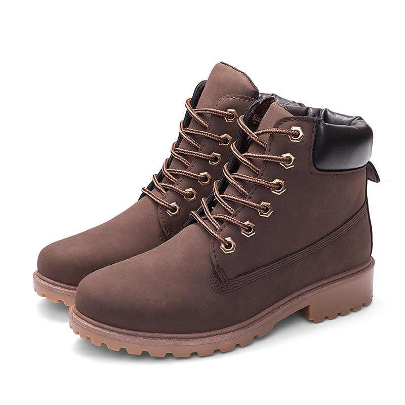 2019 yeni yarım çizmeler kadınlar kışlık botlar için Martin çizmeler peluş sıcak kadın botları kadın kış ayakkabı kadın ayakkabı artı boyutu 42