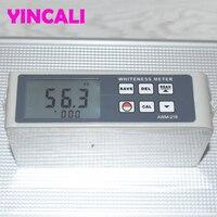 Verificador da brancura da precisão do medidor AWM 216 da brancura usado para medir o valor da brancura do objeto ou do pó com superfície lisa|Med. brilho| |  -