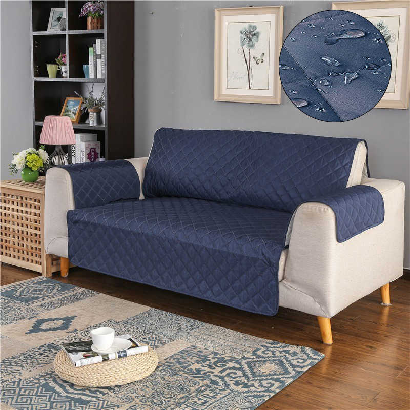 Sofa Cover 2019 Newest Updated 100% Waterproof Couch Slipcover for Dog Pet Kid Recliner Armchair Anti Slip Furniture Protector