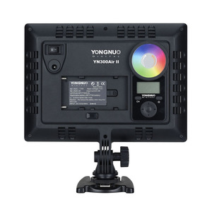 Image 3 - YONGNUO YN300Air II YN 300 Air Pro RGB LED Camera Video Light,Optional with Battery Charger kit Photography Light +AC adapter