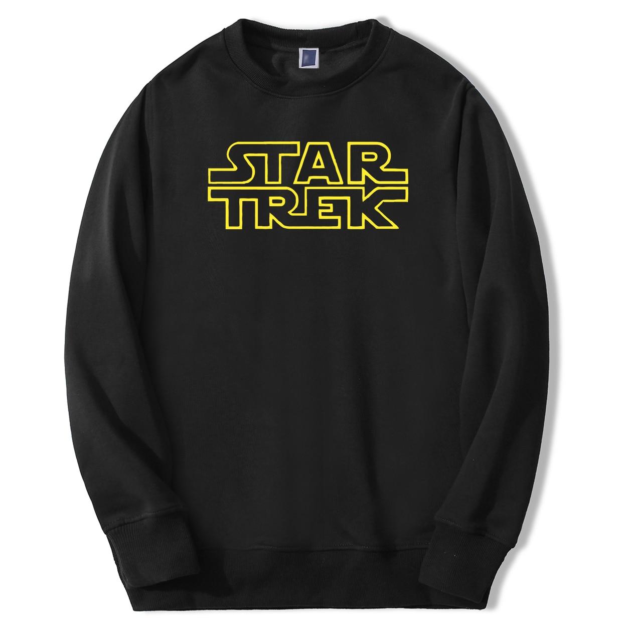 Star Trek Men's Sweatshirts Startrek Male Hoodies Sweatshirts 2020 Spring Autumn Fashion Starwars Hoodies Sweatshirt Man Tops(China)