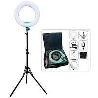 Yidoblo QS 480DII Bluetooth APP Control Photography Ring lamp 18\ 480PCS LED Ring Light Warm & Cold Color Adjustable Ring Lamp