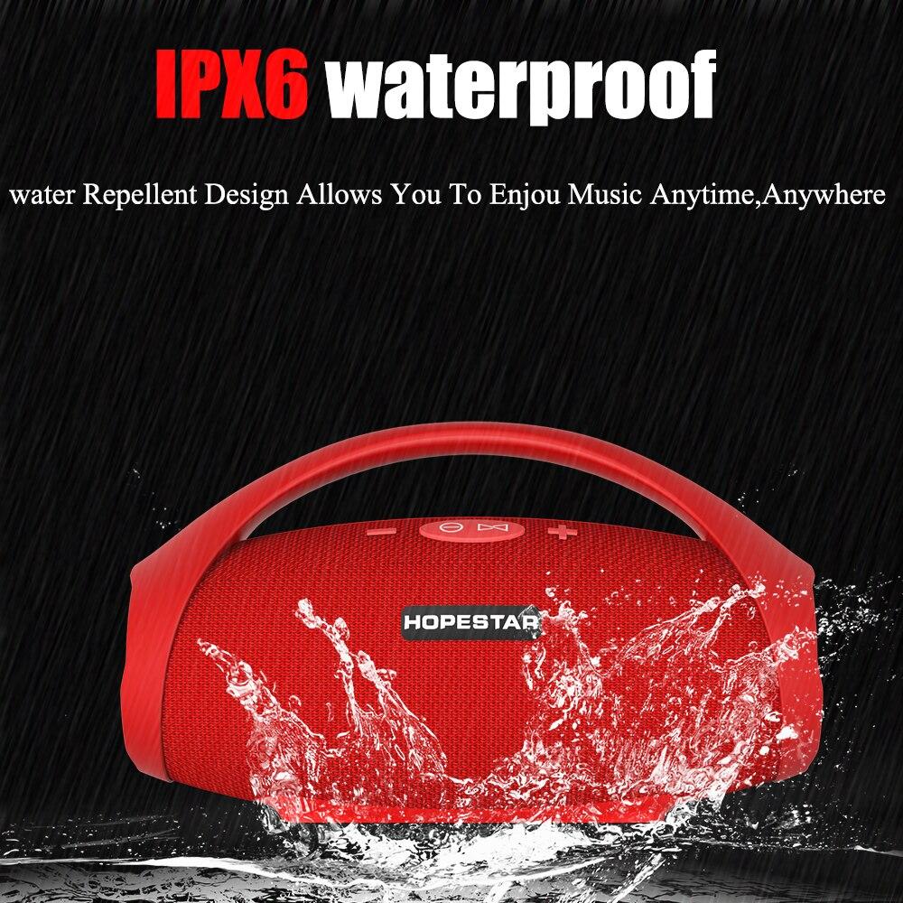 Image 2 - HOPESTAR H32 Powerful Bluetooth Speaker Waterproof Music Column  3D Stereo Speakers Portable Outdoor Wifi Wireless BoomboxPortable  Speakers