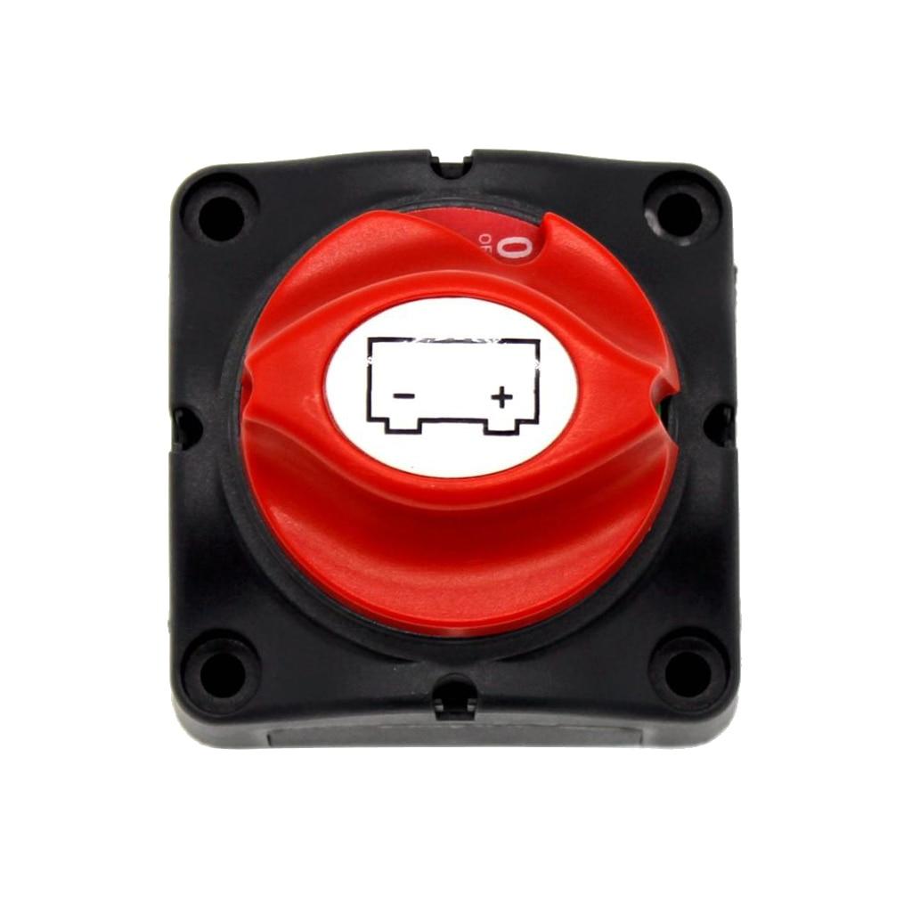 12V 600A Isolateur de puissance de batterie D/éconnexion principale Coup/é Interrupteur /à deux niveaux pour RV Yacht Boat Isolateur de batterie Coupure de courant I Interrupteur disolateur de batterie