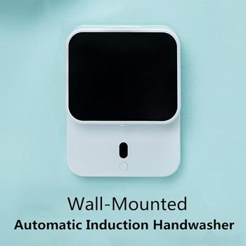 280ml Wall-mounted USB Automatic Foam Soap Dispenser Induction Hand Washer LED Temperature Display Soap Dispenser 1