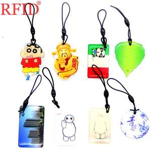 UID S50 1K 13.56 UID Dropping Glue Key Tags Changeable IC MFS50 NFC Card RFID IC Card Multiple Choices Keyfob Keychain 1pcs(China)