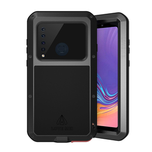 Image 2 - Shockproof Case For Samsung Galaxy A9 2018 Metal Fundas For Samsung Galaxy A9 2018 Coque Rugged Anti Fall Capa Armor Phone Cover