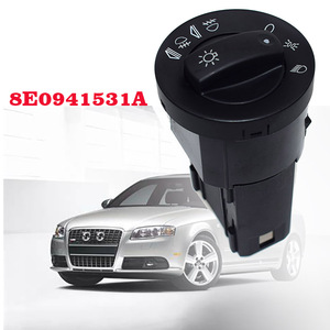New 8E0941531C 8E0941531 8E0941531A Head Light switch For AUDI A4 B6 2000-2004 A4 B7 2004-2007 Autoparts