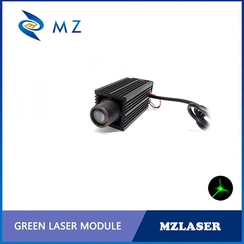 High Power Green Spot 520nm 120mw Laser Module Big Green Laser Beam