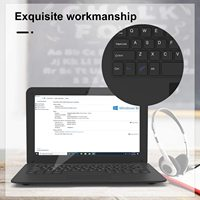 10.1Inch Portable Laptop Mini Computer Ultra Thin Notebook with Intel Atom Z8350 4GB RAM and 64GB Storage with Windows10 OS 2