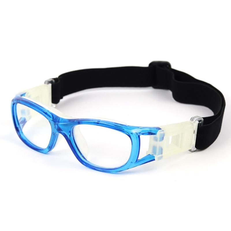 Kids Basketball Goggles Ultralight UV400 Adjustable Windproof Anti-fog Dust-proof Protective Safety Glasses Football Sportswear