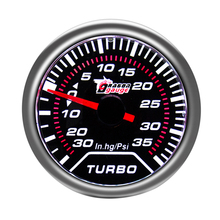 2 ''52 мм Dial Range-30-35 PSI устойчивый к царапинам турбоманометр Универсальный подходит для большинства автомобилей или мотоциклов
