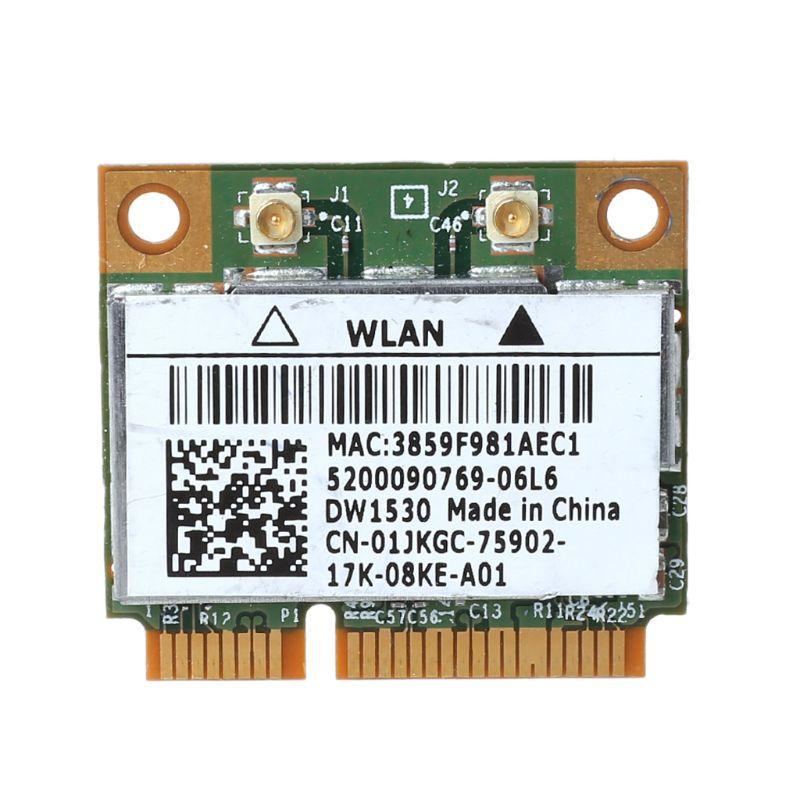 BCM4322 Wireless 802.11a/b/g/n Dual Band Mini Pci-e Wifi Card DW1530 For Dell