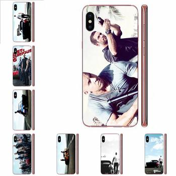 Soft TPU Phone Case Skin Cover Paul Walker Fast Furious 6 For Apple iPhone 4 4S 5 5C 5S SE SE2 6 6S 7 8 11 Plus Pro X XS Max XR image