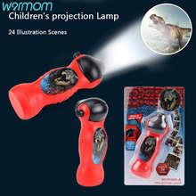 Warmom Детский мультфильм фонарик проектор 24 Модели раннего