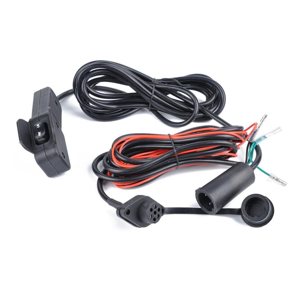 12V Winch Corded Manual Hand Remote Control Kits for ATV UTV Winch