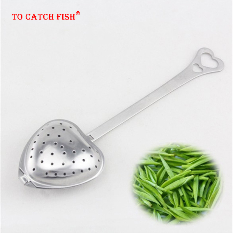 Creative Heart-shaped Tea Filter,Tea Infuser Tools,Food Grade Make Flower Tea Bag Filter Stainless Steel Strainers