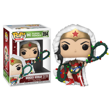 Funko Pop SUPER HEROES WONDER WOMAN #354 Vinyl Action Figure Dolls Toys 1