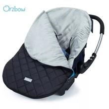 Orzbow – Siège de voiture couvrant à chaud pour bébé de 0 à 12 mois,le panier de transport de l'enfant, porte-bébé pendant le voyage, cocon idéal pendant l'hiver,