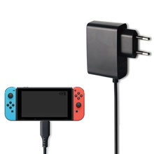 EU Plug AC Adapter Charger For Nintendo Switch NS Game Console Wall Travel Home Charger 5V 2.4A Charging USB Type C Power Supply eu plug ac adapter power supply charger for super nintendo snes