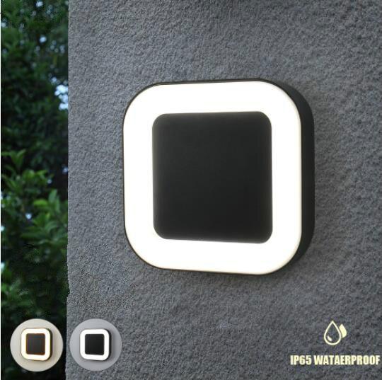 moderno 20w ip65 a prova d40 agua exterior 40 led lampadas de parede ao ar livre
