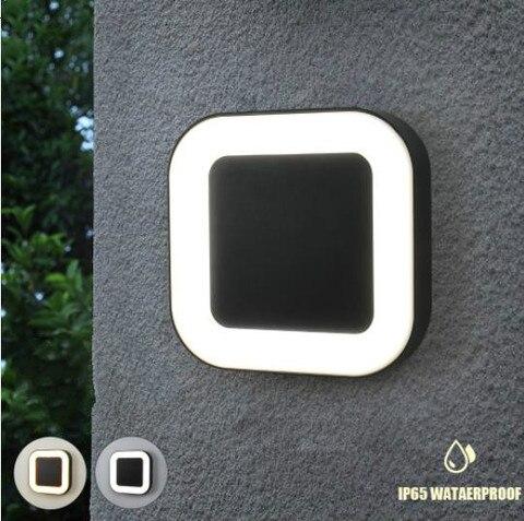 moderno 20w ip65 a prova d40 agua exterior 40 led lampadas de parede ao ar