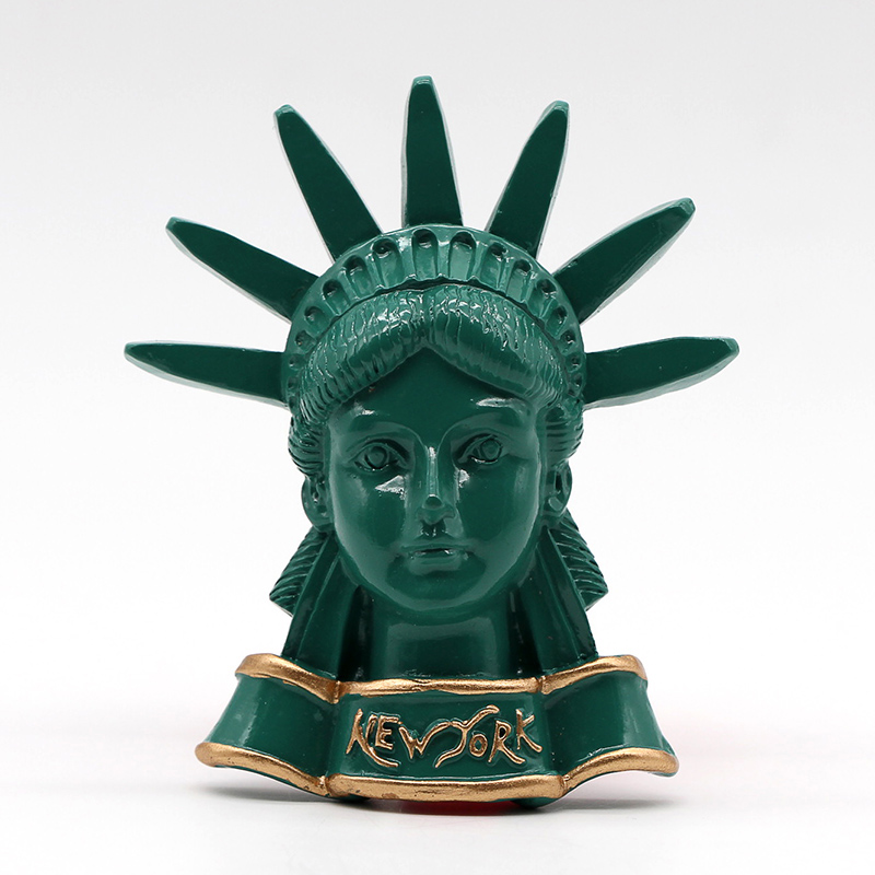 Statue of liberty fridge magnet New York USA magnetic refrigerator paste simulation American tourist souvenirs collection gift image