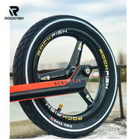 Rockfish FT 3X three knife carbon balance bike rim runbike wheelset for kids