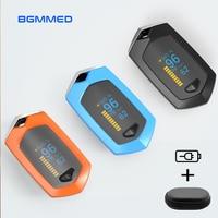 BOXYM akumulator pulsoksymetr napalcowy Oximetro De Dedo tętno tlenowa krwi Monitor Spo2 sportowe Pulsioximetro