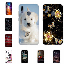 For Asus Zenfone Max M2 ZB633KL Case Soft TPU Cover Scenery Pattern Bag