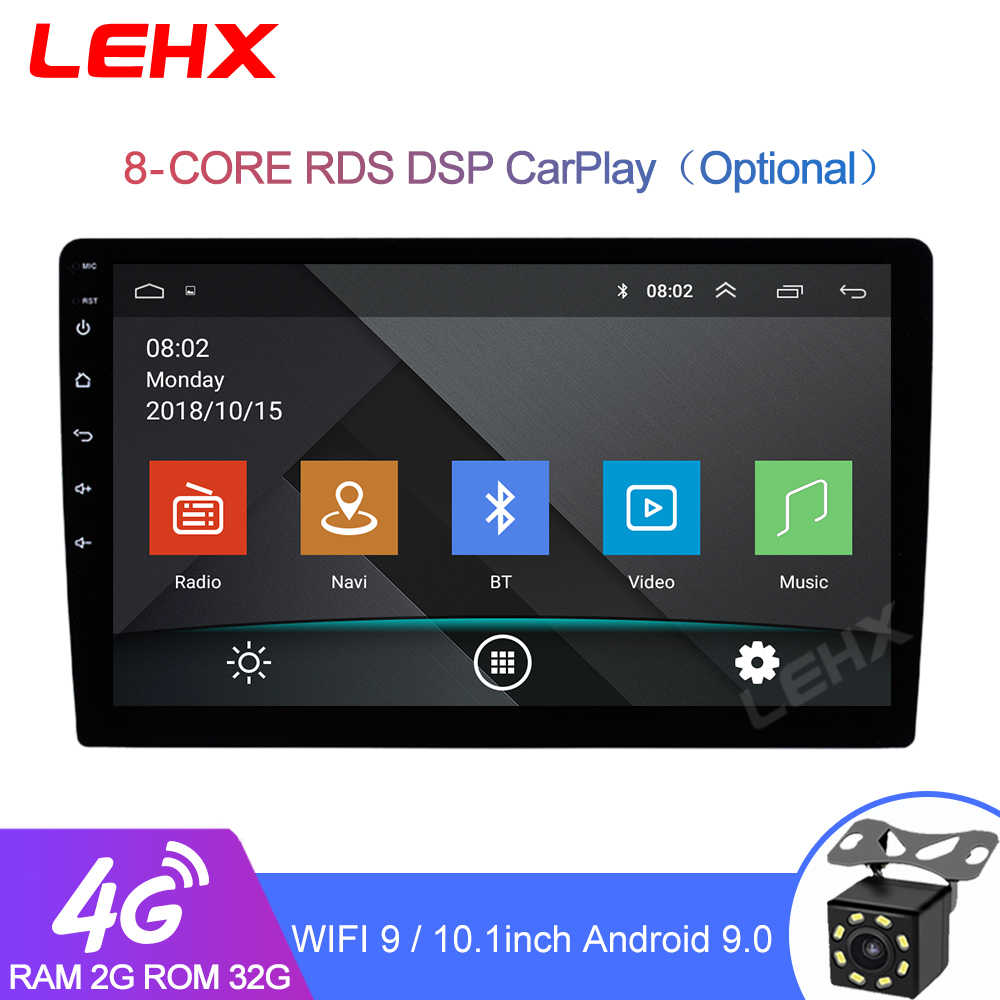 9/10.1 Inci 2 Din Android 9.0 Car Radio Multimedia Video Player Universal Auto Stereo untuk Volkswagen Nissan Hyundai Kia Toyota