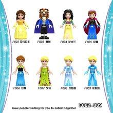 Amigos série figura princesa olivia mia kate stephanie emma andrea blocos de construção brinquedos para crianças lockingre brinquedos presentes