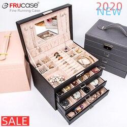 FRUCASE luxurious jewelry box earrings jewelry display box wedding gifts gift box Display cabin watch box