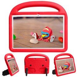 Enfants antichoc EVA support étui pour Huawei MediaPad T5 10 10.1 pouces couverture AGS2-W09 AGS2 L09 L03 coque funda avec support pliable