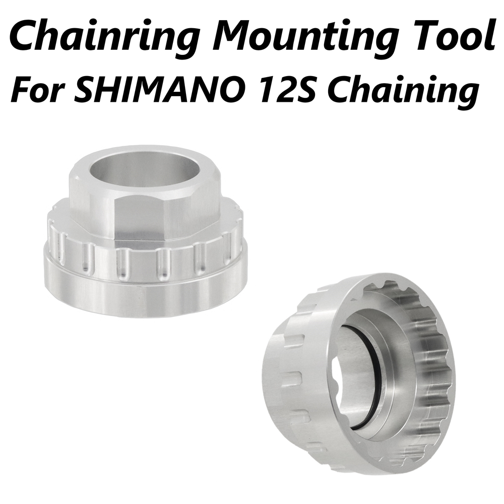 Chaining Mounting Tool For SM-CRM95 / SM-CRM85 / SM-CRM75, TL-FC41 / FC41 Aluminum Alloy CNC Bicycle Tool