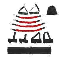 Stretching Strap Set Widerstand Bands für Bein und arm Übungen Boxen Muay Thai Home Gym Springenden Festigkeit Ausbildung Ausrüstung
