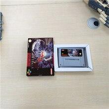 Terranigma   EUR 버전 RPG 게임 카드 배터리 저장 상자