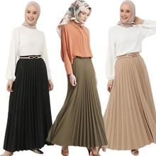 Clothing Skirts Islamic Muslim Fashion Turkey Maxi Loose Party High-Waist African Women