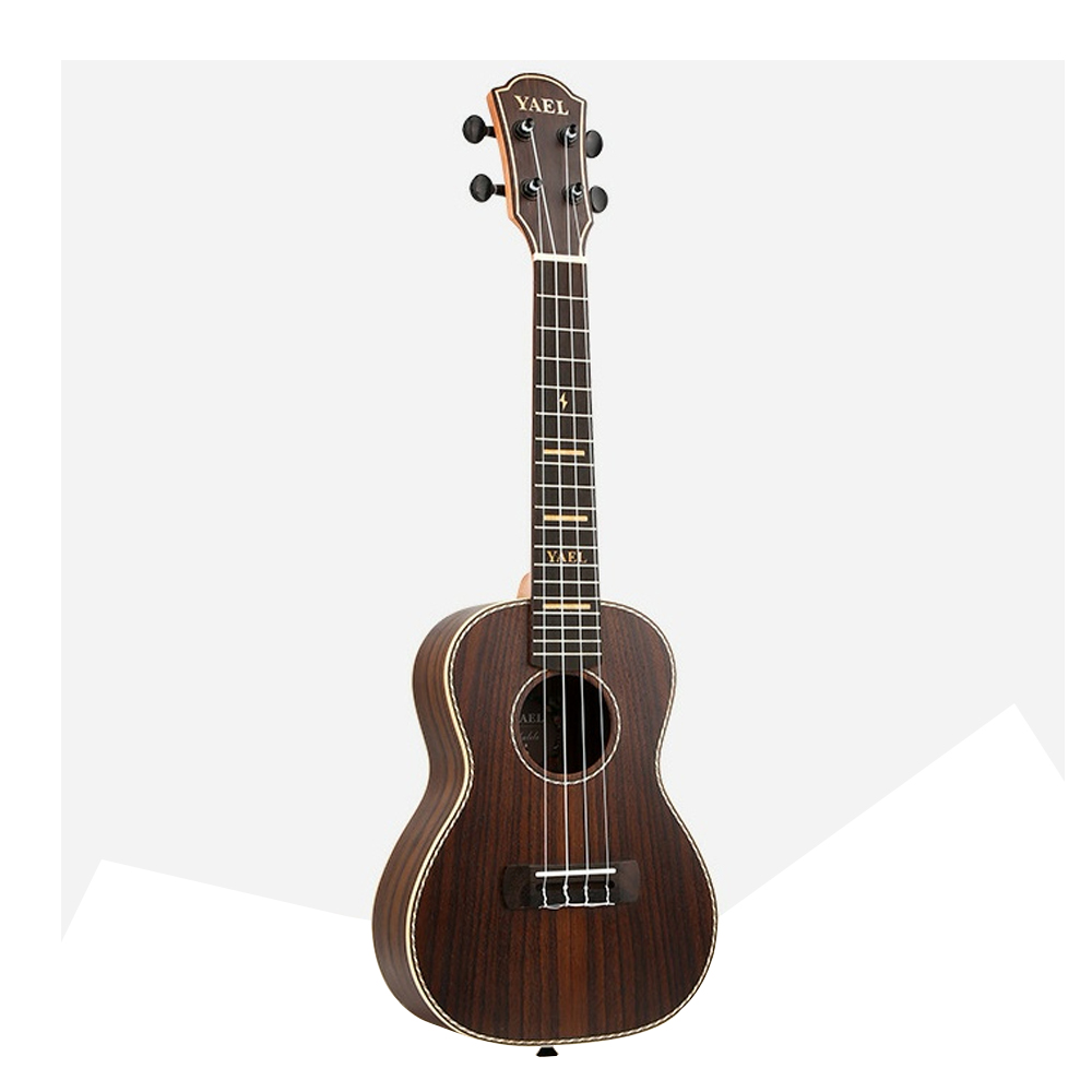 High Quality  23 Inch Concert Ukulele 4 AQUILA Strings Hawaiian Mini FULL Rosewood Guitar Uku Acoustic Guitar Ukelele UK2313