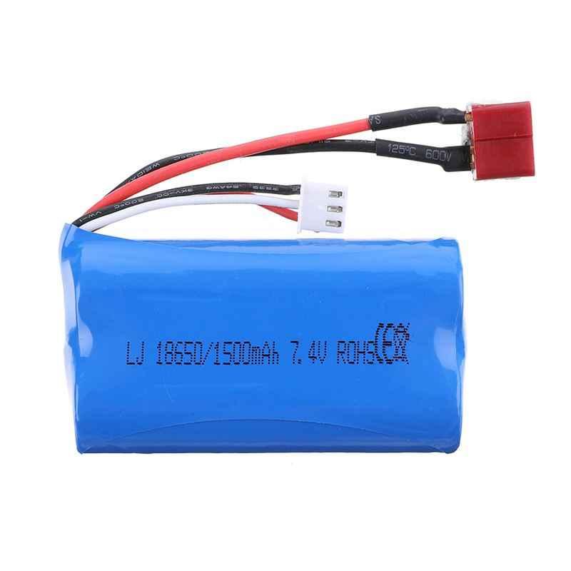 Batterie de voiture de véhicules de Li-ion RC de prise de HB 7.4V 1500mAh 2S T pour les pièces de rechange de modèle de ZP1001 1/10