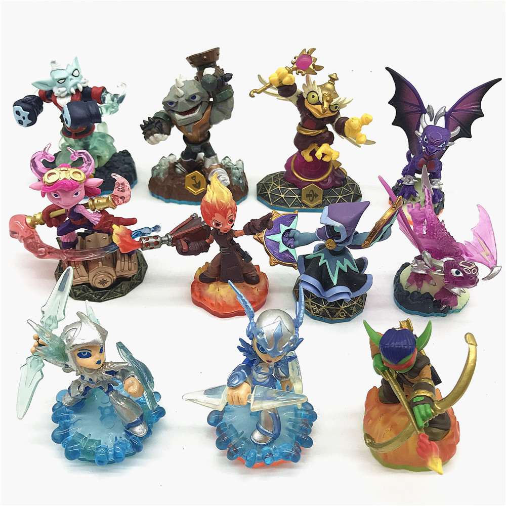 Skylanders Spyro's Adventure Collect Team Tree Man Dragon Lightning Rod Action Figure Model Collection Toys For Kids Gifts