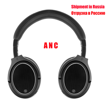Shipment in Russia  M1 ANC Bluetooth Headphone Wireless Bluetooth Headset For Tablet TV Phones Active Noise Cancelling Headphone