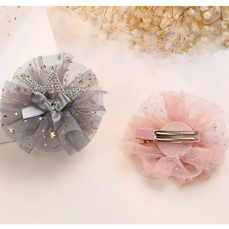 Tocados de corona infantil niños BB Clip de pelo mujer bebé horquilla princesa dama decoración para el cabello sombreros de niña herramientas